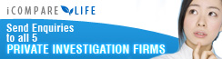 Private Investigator Comparison and Enquiry Site | iCompare Life banner