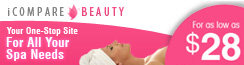 Spa | Massage | Facial Treatment  | iCompare Beauty Banner